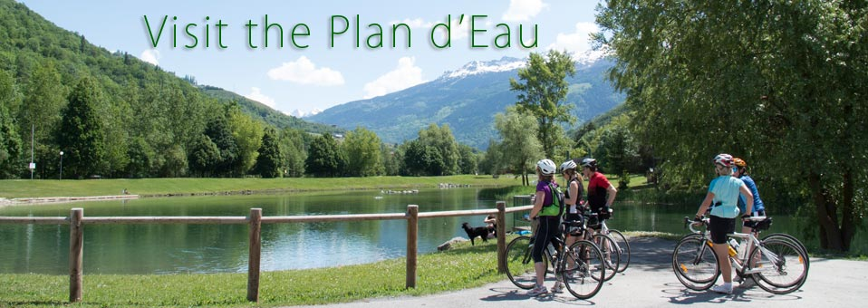 Visit the Plan d'eau for a swim and picnic or barbeque