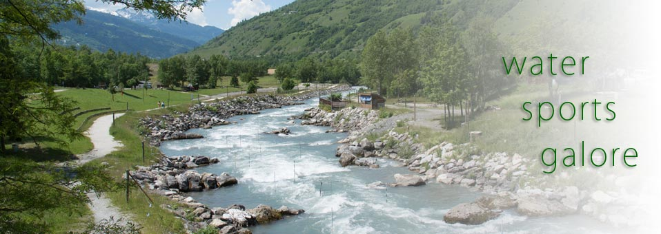 Water Sports &shopping in Bourg St Maurice