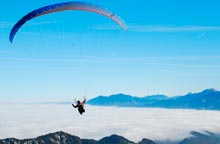 Parapente in the Tarentaise