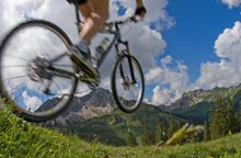 Mountain Biking in Sainte Foy