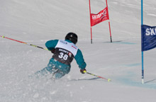 Adult ski race carve camps